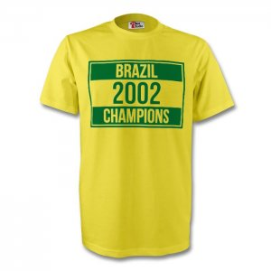Brazil 2002 Champions Tee (yellow) - Kids
