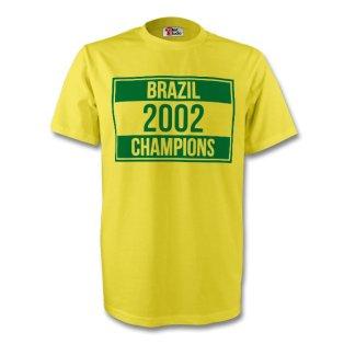 Brazil 2002 Champions Tee (yellow) - Kids