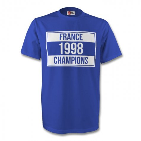 France 1998 Champions Tee (blue)