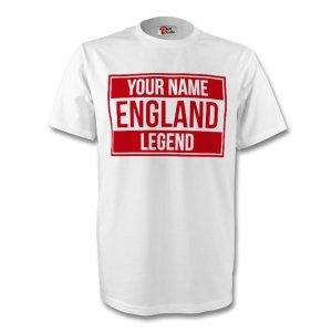 Your Name England Legend Tee (white) - Kids