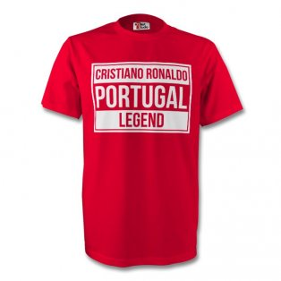 Cristiano Ronaldo Portugal Legend Tee (red) - Kids