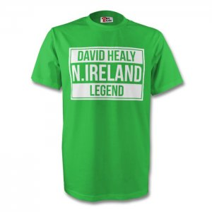 David Healy Northern Ireland Legend Tee (green)