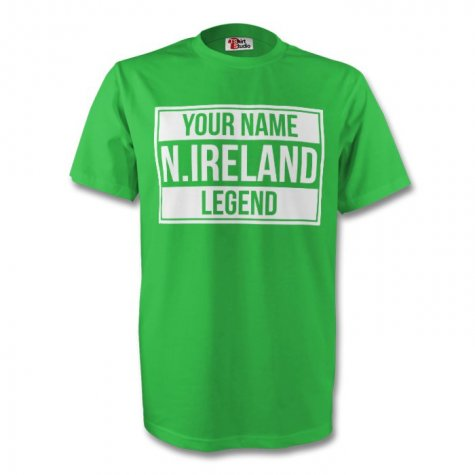 Your Name Northern Ireland Legend Tee (green) - Kids