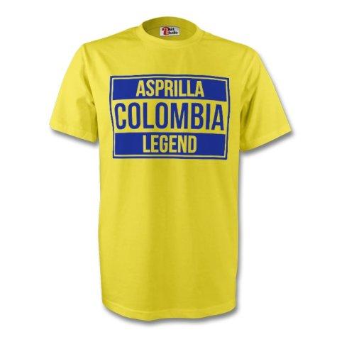 Faustino Asprilla Colombia Legend Tee (yellow)