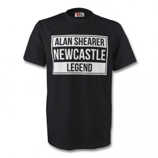 Alan Shearer Newcastle Legend Tee (black) - Kids