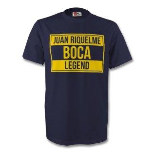 Juan Roman Riquelme Boca Juniors Legend Tee (navy) - Kids