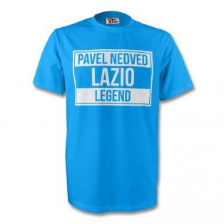 Pavel Nedved Lazio Legend Tee (sky Blue) - Kids