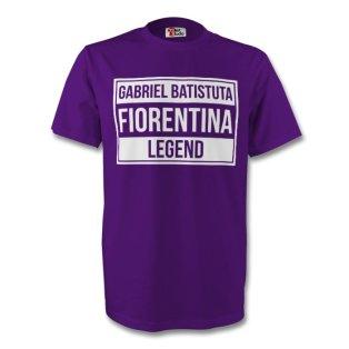 Gabriel Batistuta Fiorentina Legend Tee (purple) - Kids