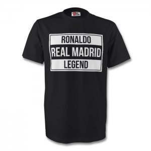 Ronaldo Real Madrid Legend Tee (black)