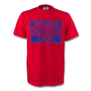 Ronaldinho Barcelona Legend Tee (red)