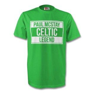 Paul Mcstay Celtic Legend Tee (green) - Kids