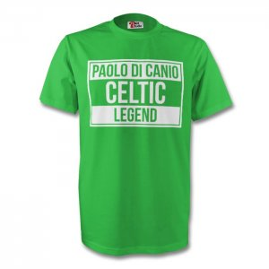 Paolo Di Canio Celtic Legend Tee (green) - Kids