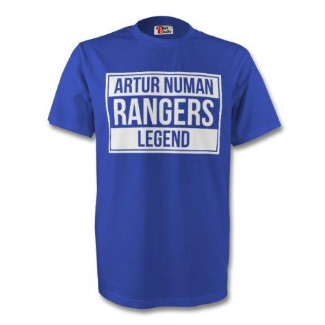 Artur Numan Rangers Legend Tee (blue) - Kids