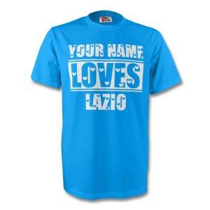 Your Name Loves Lazio T-shirt (sky) - Kids