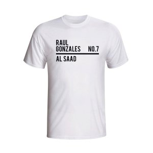 Raul Al Saad Squad T-shirt (white)