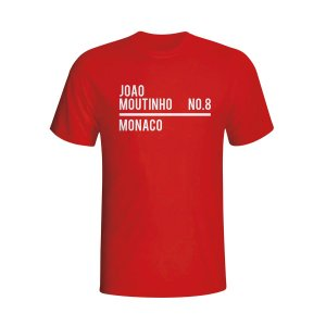 Joao Moutinho Monaco Squad T-shirt (red) - Kids