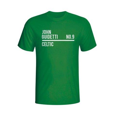 John Guidetti Celtic Squad T-shirt (green)