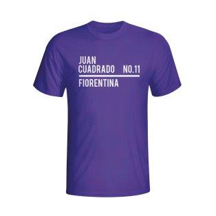 Juan Cuardado Fiorentina Squad T-shirt (purple) - Kids