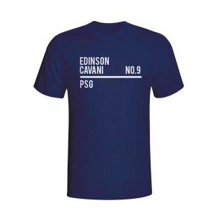 Edinson Cavani Psg Squad T-shirt (navy) - Kids