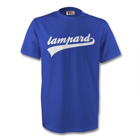 Frank Lampard Chelsea Signature Tee (blue) - Kids