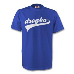 Didier Drogba Chelsea Signature Tee (blue)