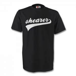 Alan Shearer Newcastle Signature Tee (black)