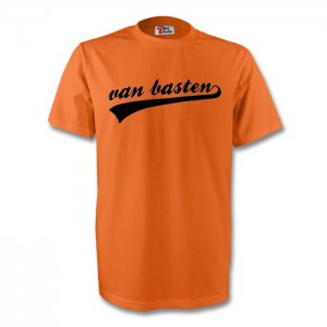 Marco Van Basten Holland Signature Tee (orange) - Kids