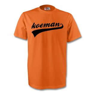 Ronald Koeman Holland Signature Tee (orange)