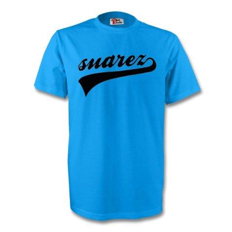 Luis Suarez Uruguay Signature Tee (sky Blue) - Kids