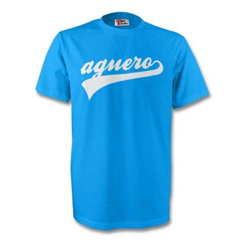 Sergio Aguero Argentina Signature Tee (red)