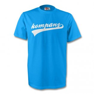 Vincent Kompany Man City Signature Tee (sky Blue) - Kids