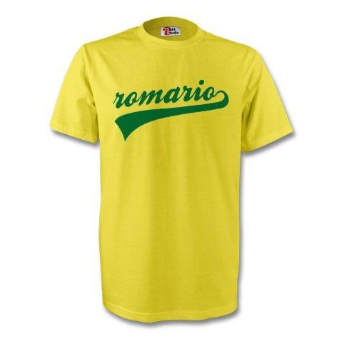 Romario Brazil Signature Tee (yellow) - Kids