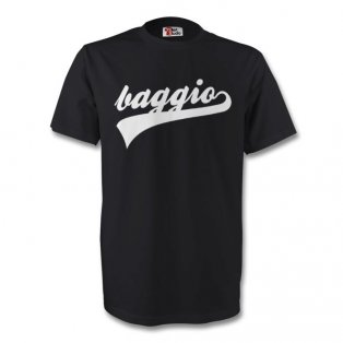 Roberto Baggio Juventus Signature Tee (black) - Kids