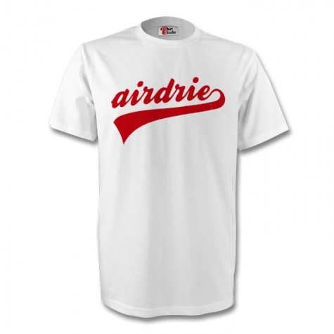 Airdrie Signature Tee (white) - Kids