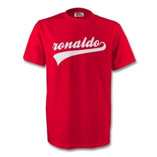 Cristiano Ronaldo Man Utd Signature Tee (red)