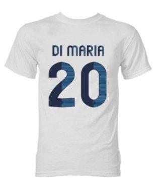 Angel di Maria Real Madrid Hero T-Shirt (White)