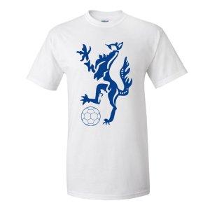 Enfield Town Core Logo T-Shirt (White) - Kids