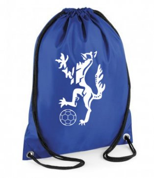 Enfield Town Core Logo Gym Bag (Blue)
