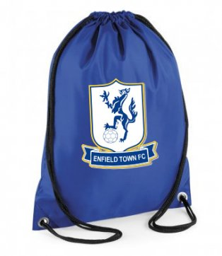 Enfield Town Official Gym Bag (Blue)