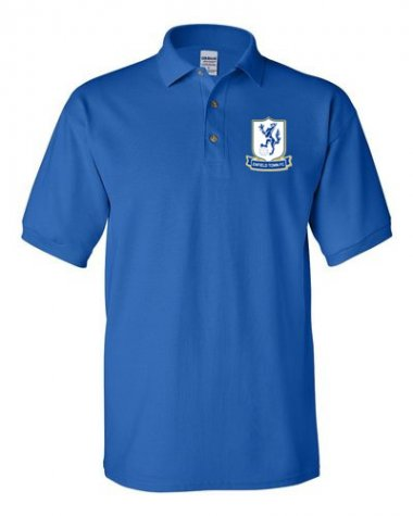 Enfield Town Official Polo Shirt (Blue) - Kids