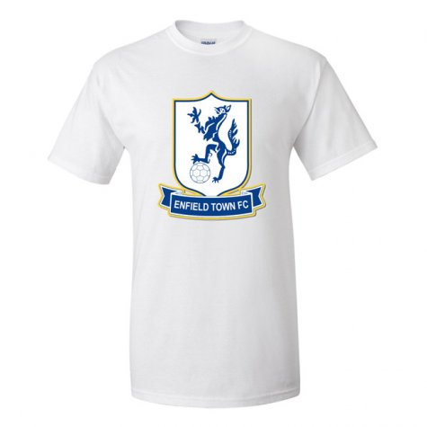 Enfield Town Official Badge T-Shirt (White)