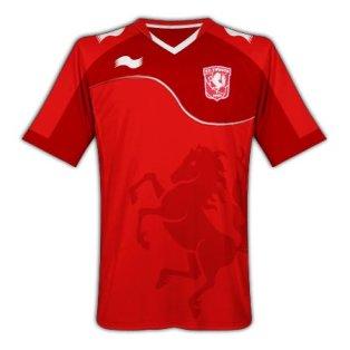 2011-12 FC Twente Home Football Shirt