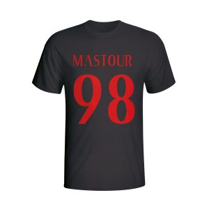 Hachim Mastour Ac Milan Hero T-shirt (black) - Kids