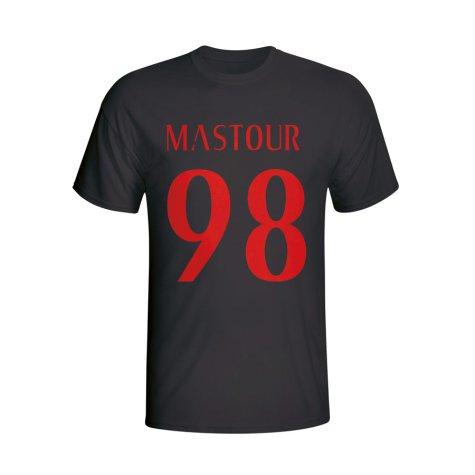 Hachim Mastour Ac Milan Hero T-shirt (black)