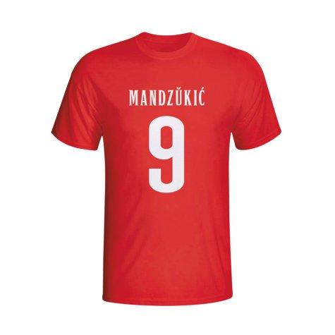 Mario Mandzukic Atletico Madrid Hero T-shirt (red)