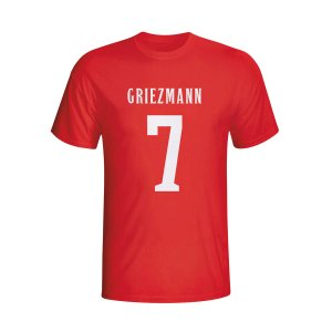 Antoine Griezmann Atletico Madrid Hero T-shirt (red)