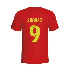 Luis Suarez Barcelona Hero T-shirt (red)