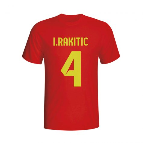 Ivan Rakitic Barcelona Hero T-shirt (red)