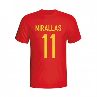 Kevin Mirallas Belgium Hero T-shirt (red) - Kids