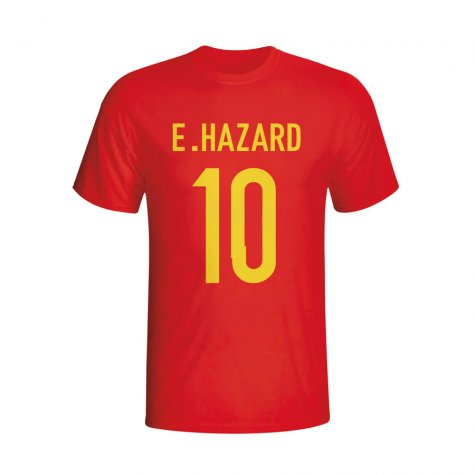 Eden Hazard Belgium Hero T-shirt (red) - Kids